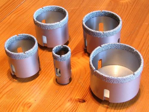 Großartig FETB Diamant Feinsteinzeug Trocken Bohrkrone 60 mm - BMH Shop KO99