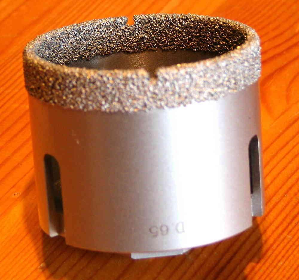 Cool FETB Diamant Feinsteinzeug Trocken Bohrkrone 60 mm - BMH Shop NB21