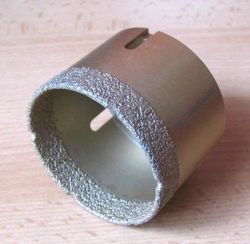 Top FGTB Diamant Feinsteinzeug Trocken Bohrkrone 60 mm - BMH Shop HX38