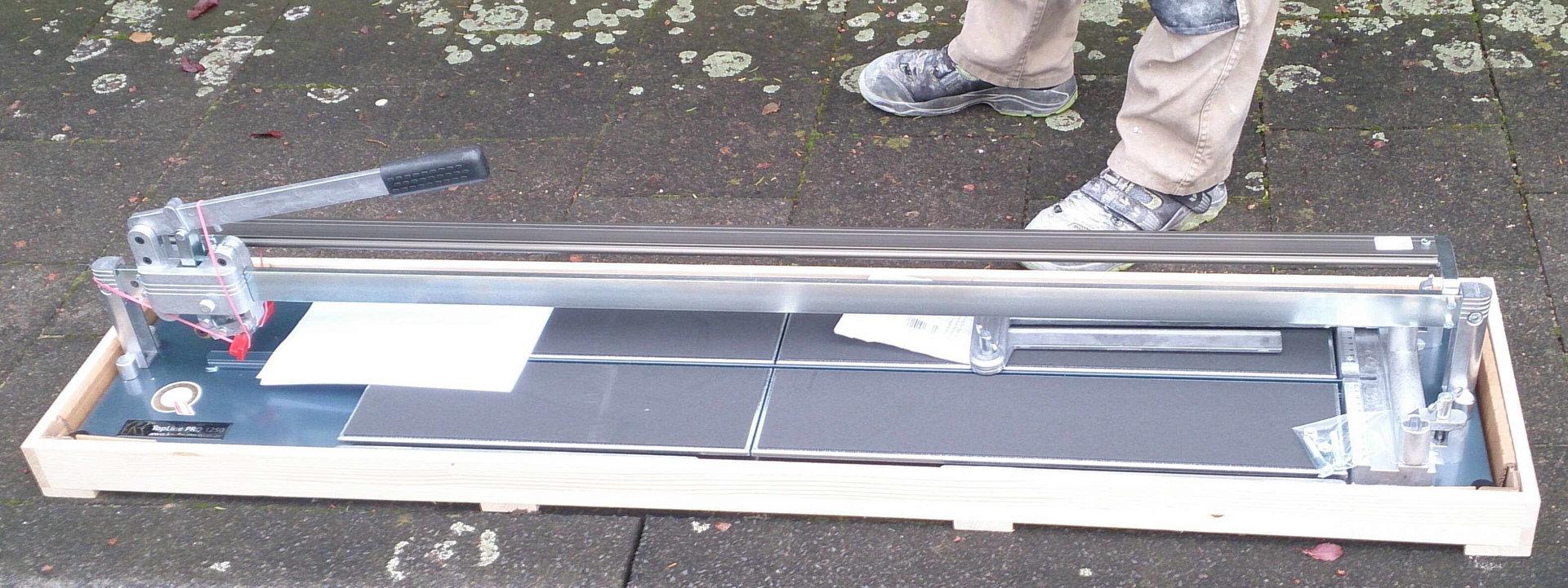 Gut Kaufmann Topline PRO Fliesenschneider Doppelwinkel SL 1250 mm-BMH NJ25