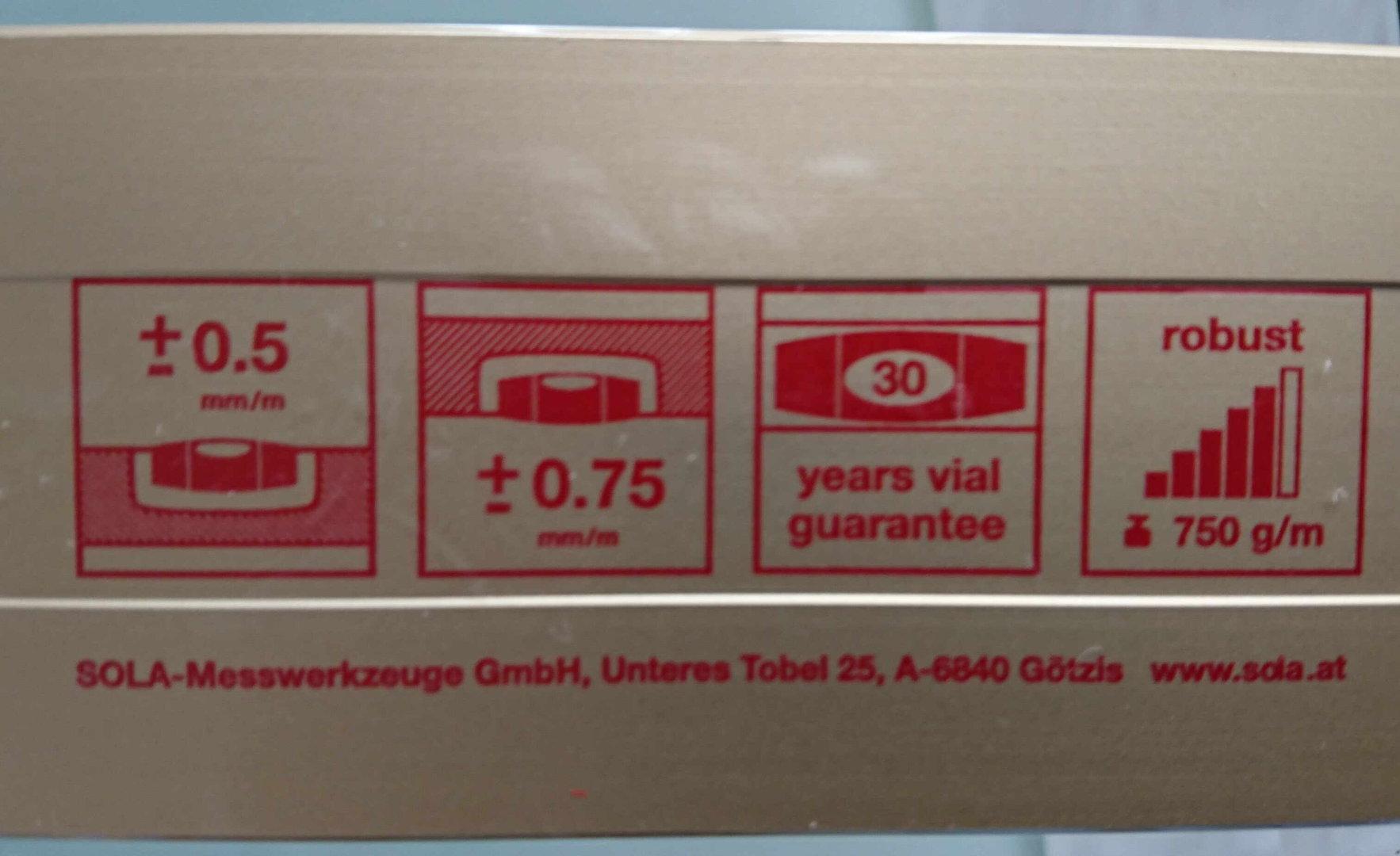8er set sola az wasserwaage gold l 40 200 cm bmh profi shop. Black Bedroom Furniture Sets. Home Design Ideas