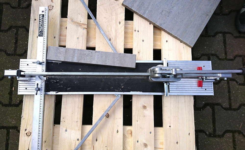 Beliebt Kaufmann Superline Fliesenschneider 20 mm Ker. SL 630 mm-BMH AO63