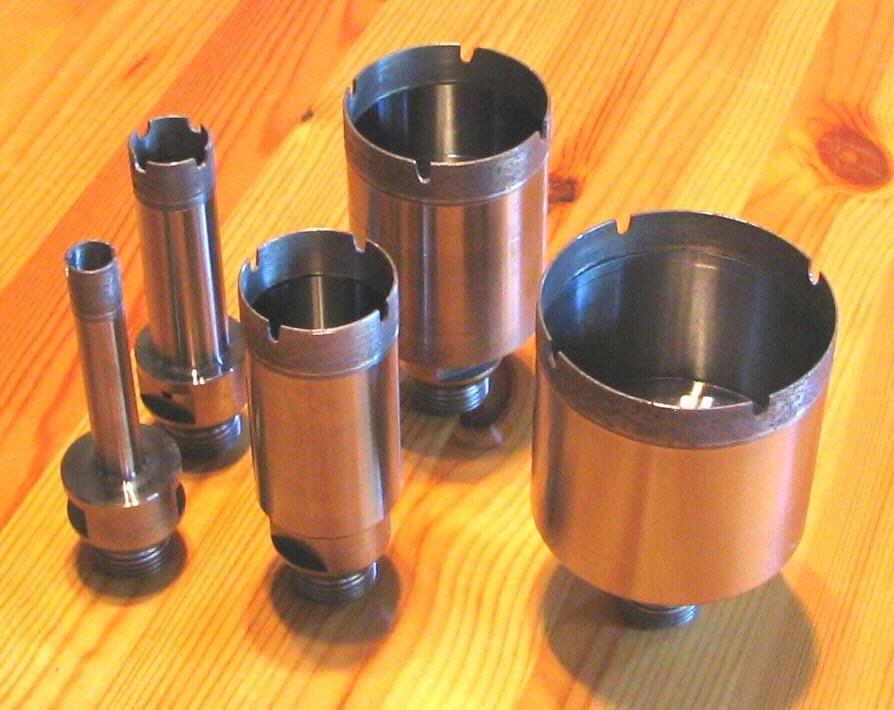 Sehr Feinsteinzeug-CNC-Bohrkronen 10 - 120 mm - BMH Profi-Shop Bohrer SK92